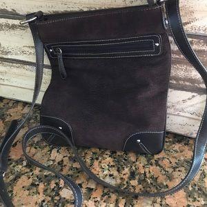 Handbags - Non Branded Suede Crossbody